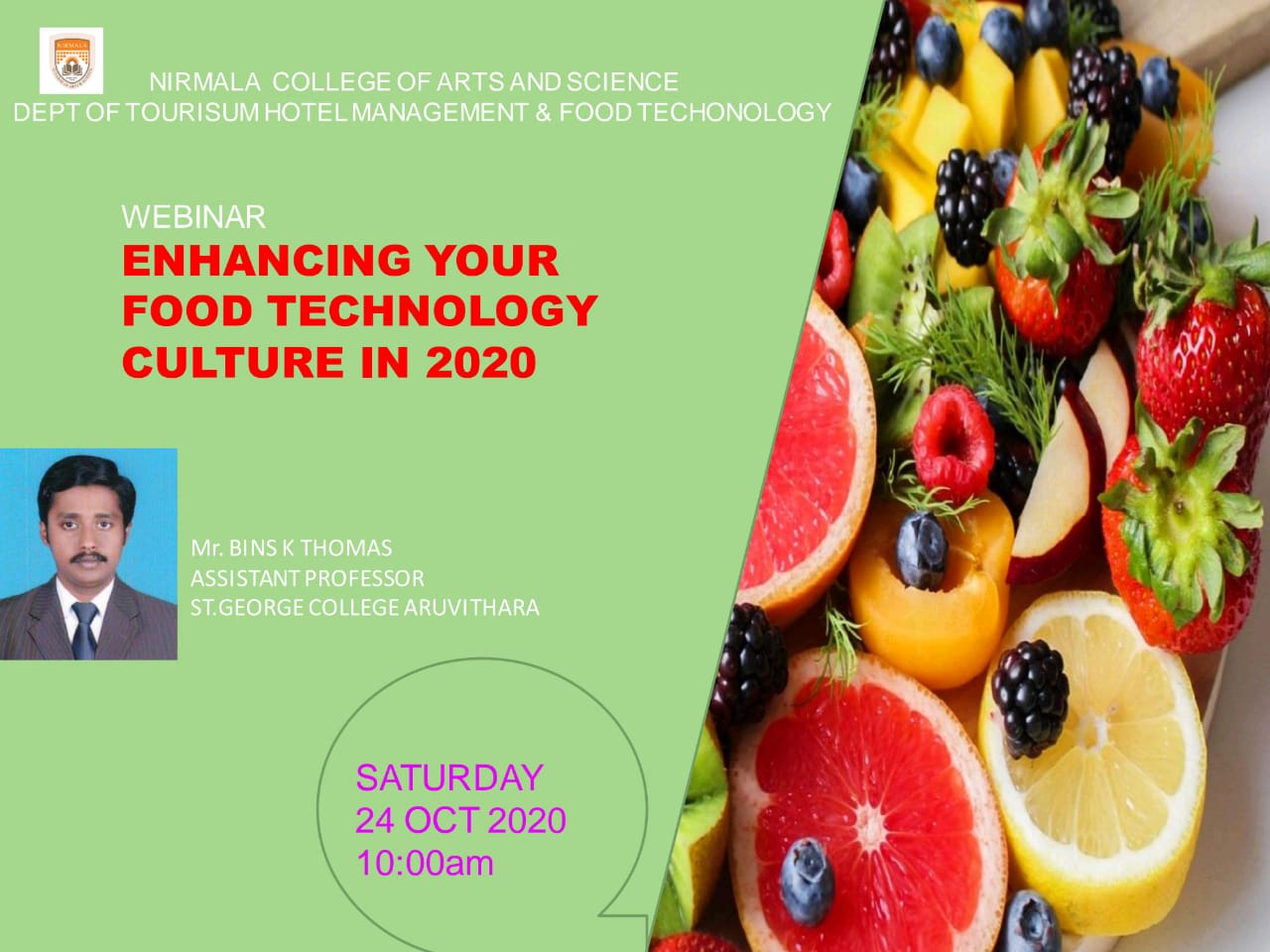 Webinar-Enhancing Your Food Technology Culture in 2020