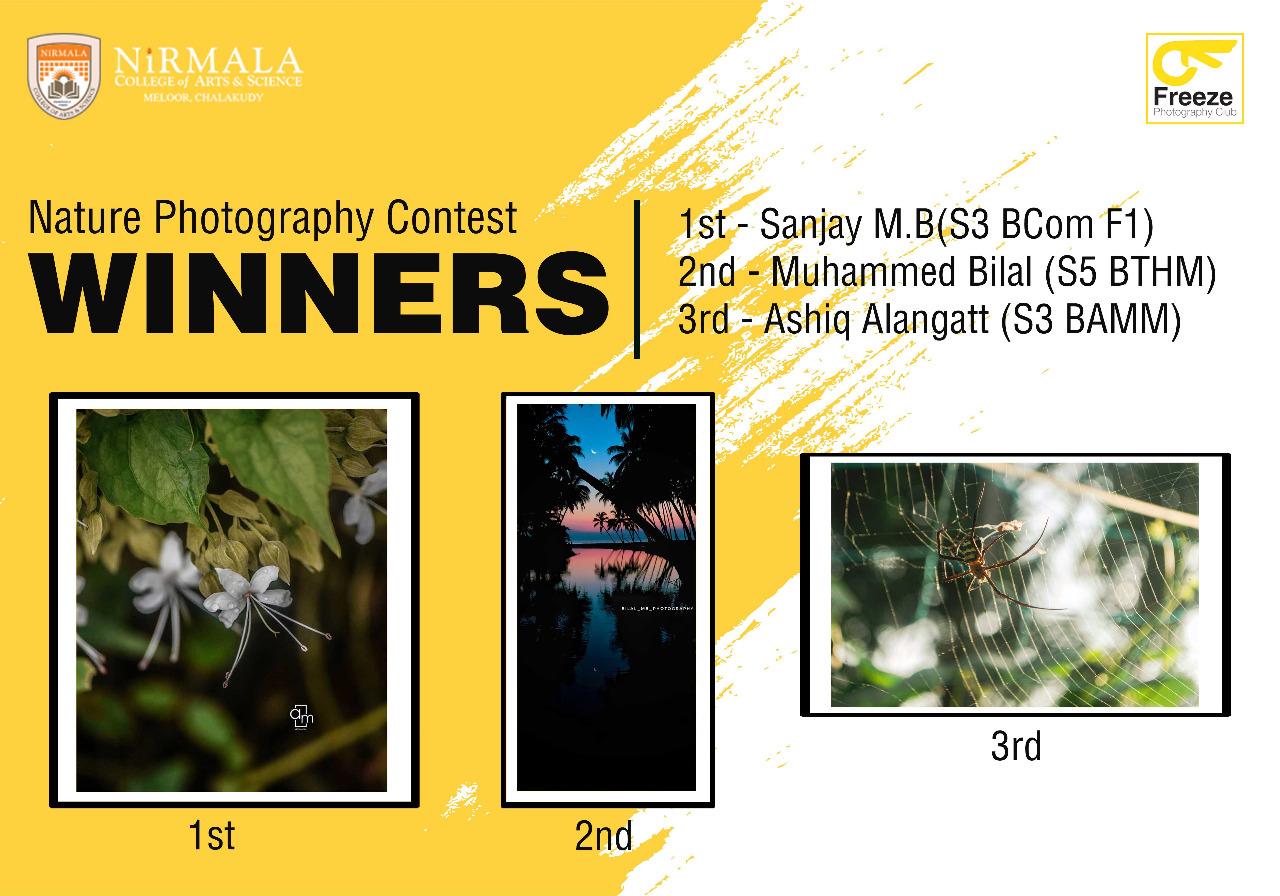 Nature Photography Contest Winners